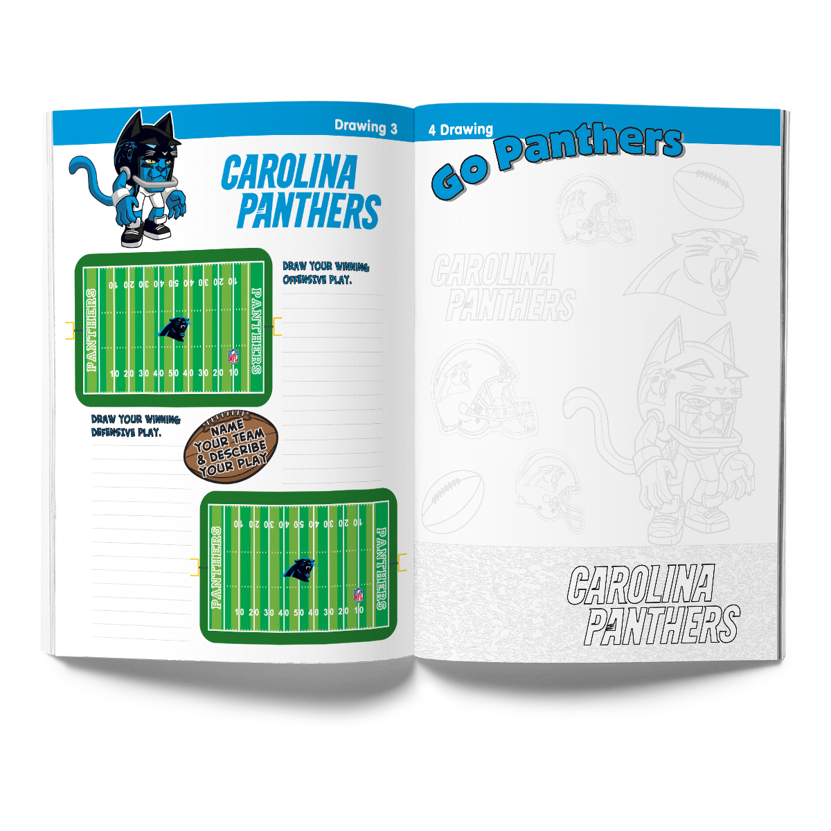 Carolina Panthers Activity Book