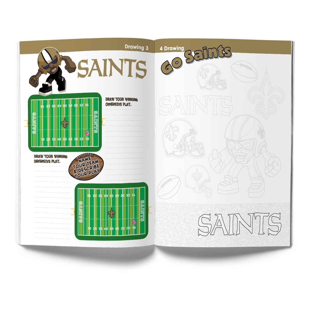 New Orleans Saints Activity Book