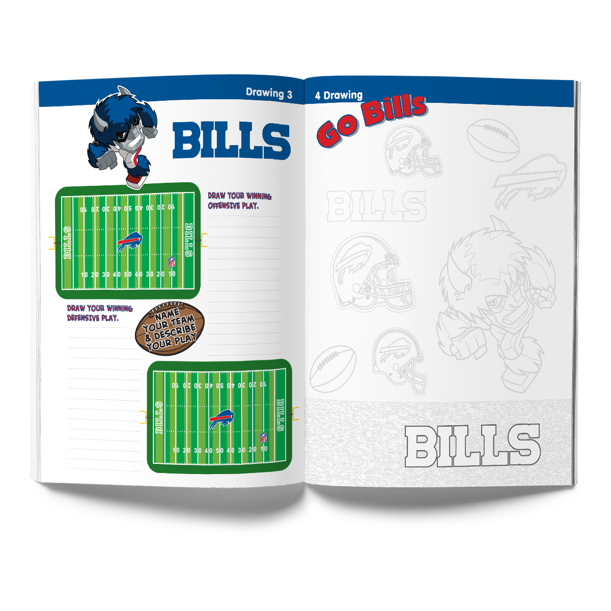 Buffalo Bills Activity Book