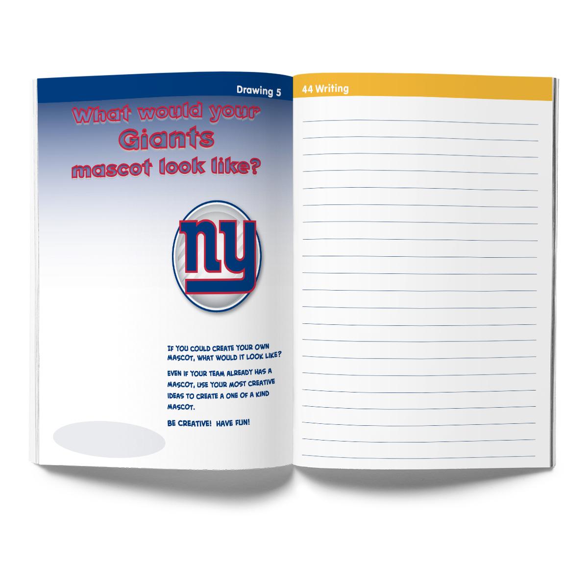 New York Giants Activity Book