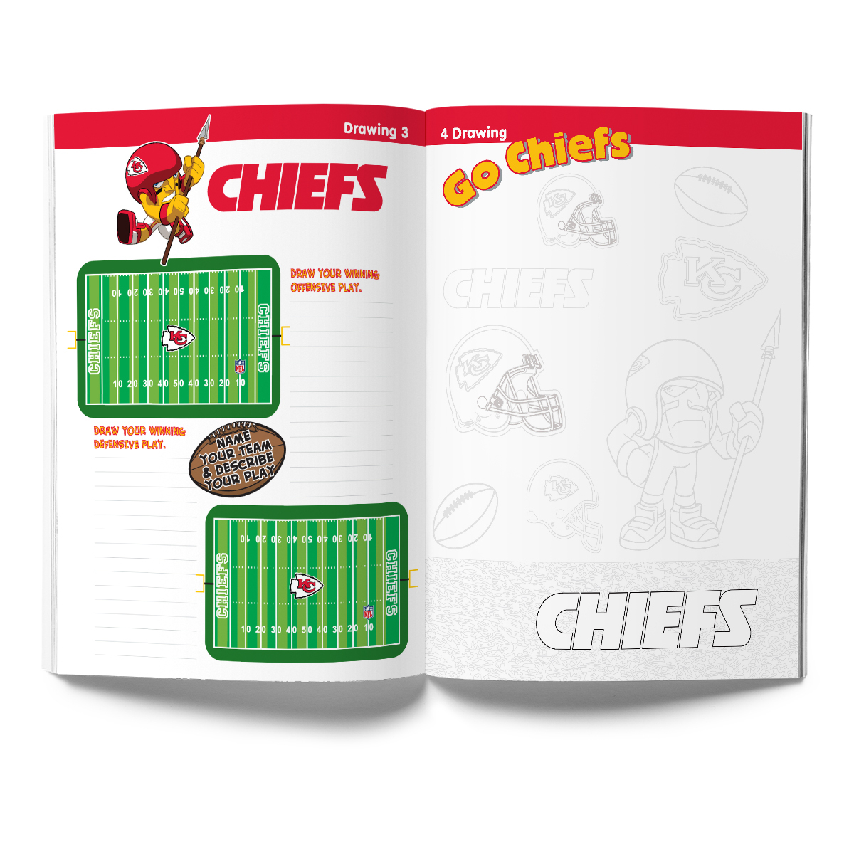 Kansas City Chiefs Activity Book
