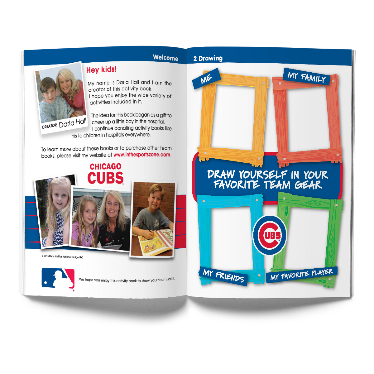 Chicago Cubs Activity Book