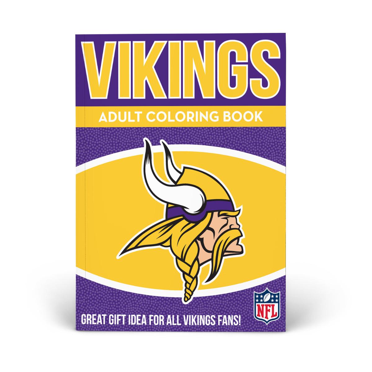 Minnesota Vikings Adult Coloring Book
