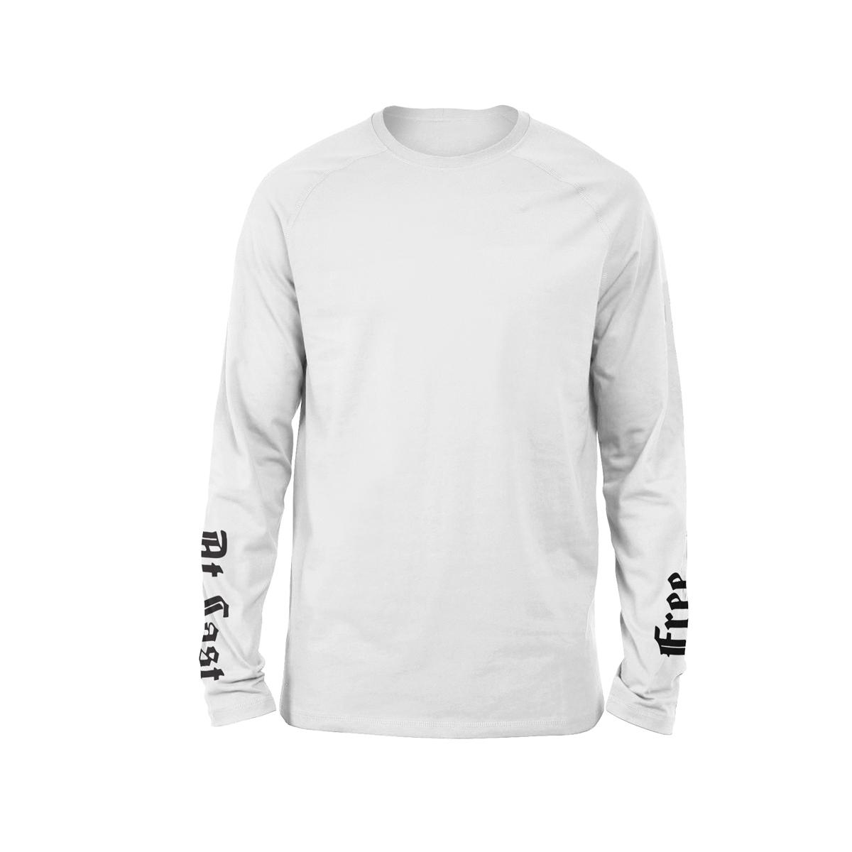 Free At Last Album + Casanova Free At Last White Long Sleeve T-shirt