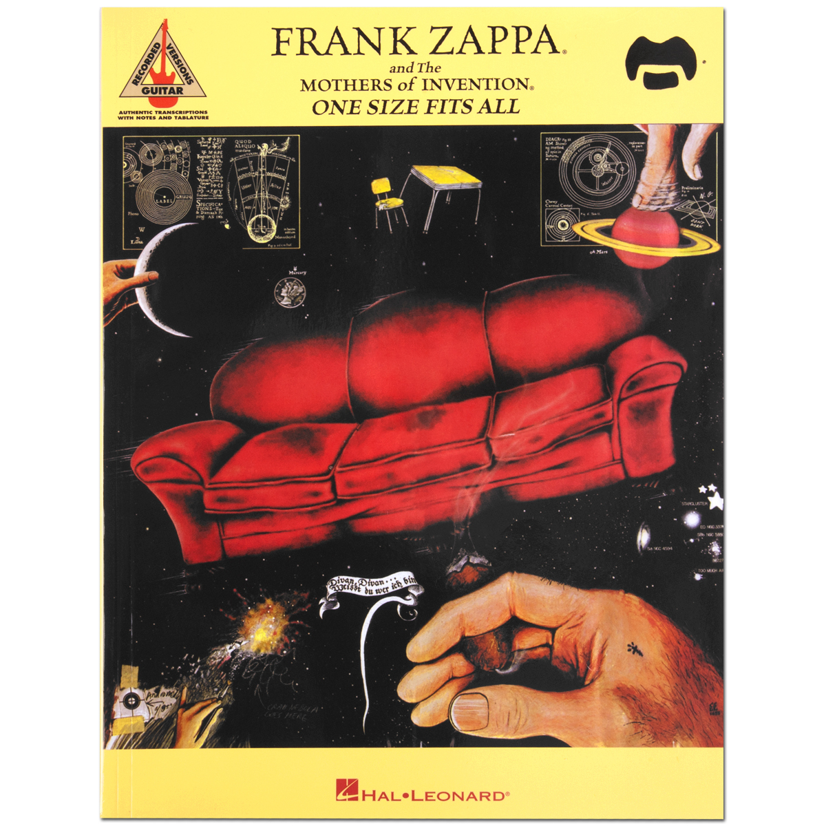 Frank Zappa / Mothers of Invention / ONE SIZE FITS ALL - Guitar Transcriptions