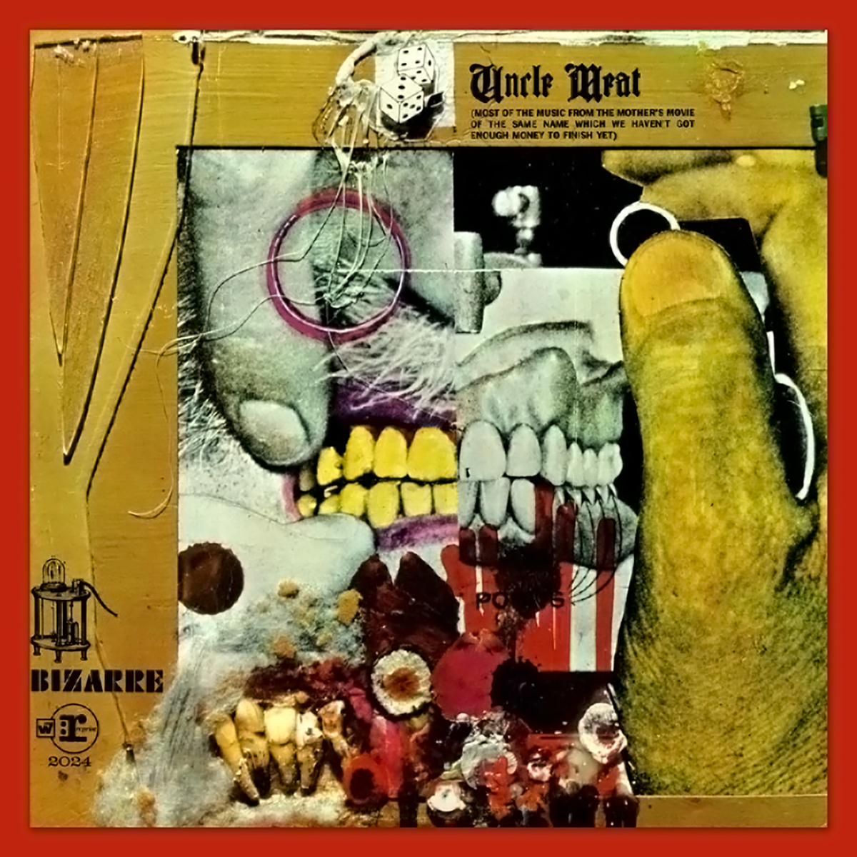 Frank Zappa Uncle Meat 1969 Musictoday Superstore