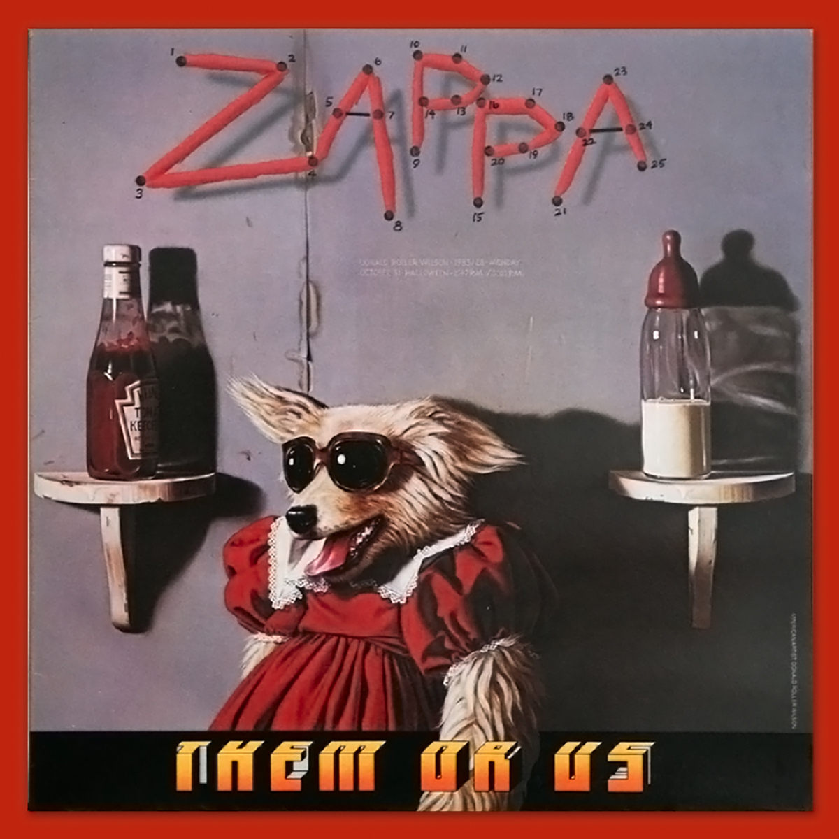 Frank Zappa - Them Or Us (1984)
