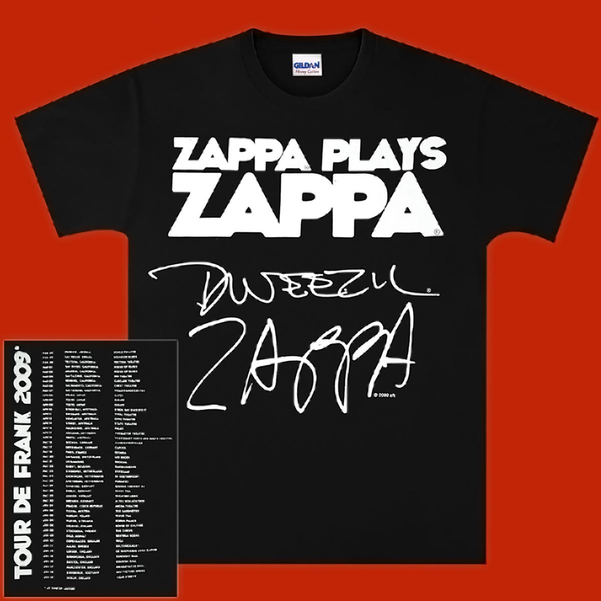 Zappa Plays Zappa - Tour de Frank 2009 Tee