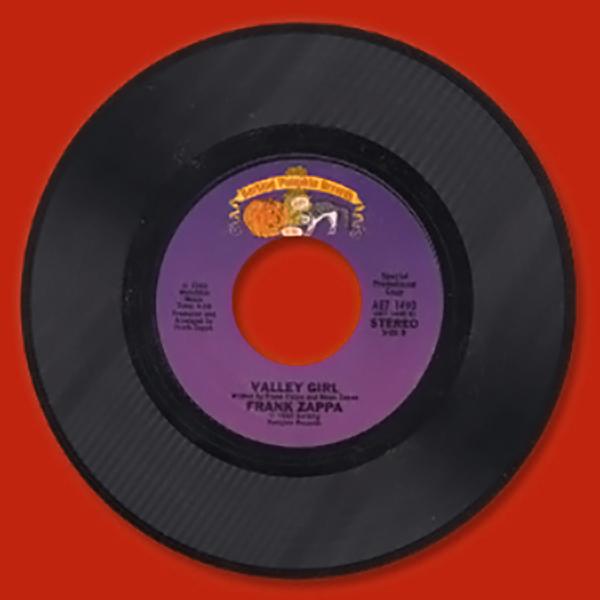 Valley Girl (45rpm Single) Frank Zappa