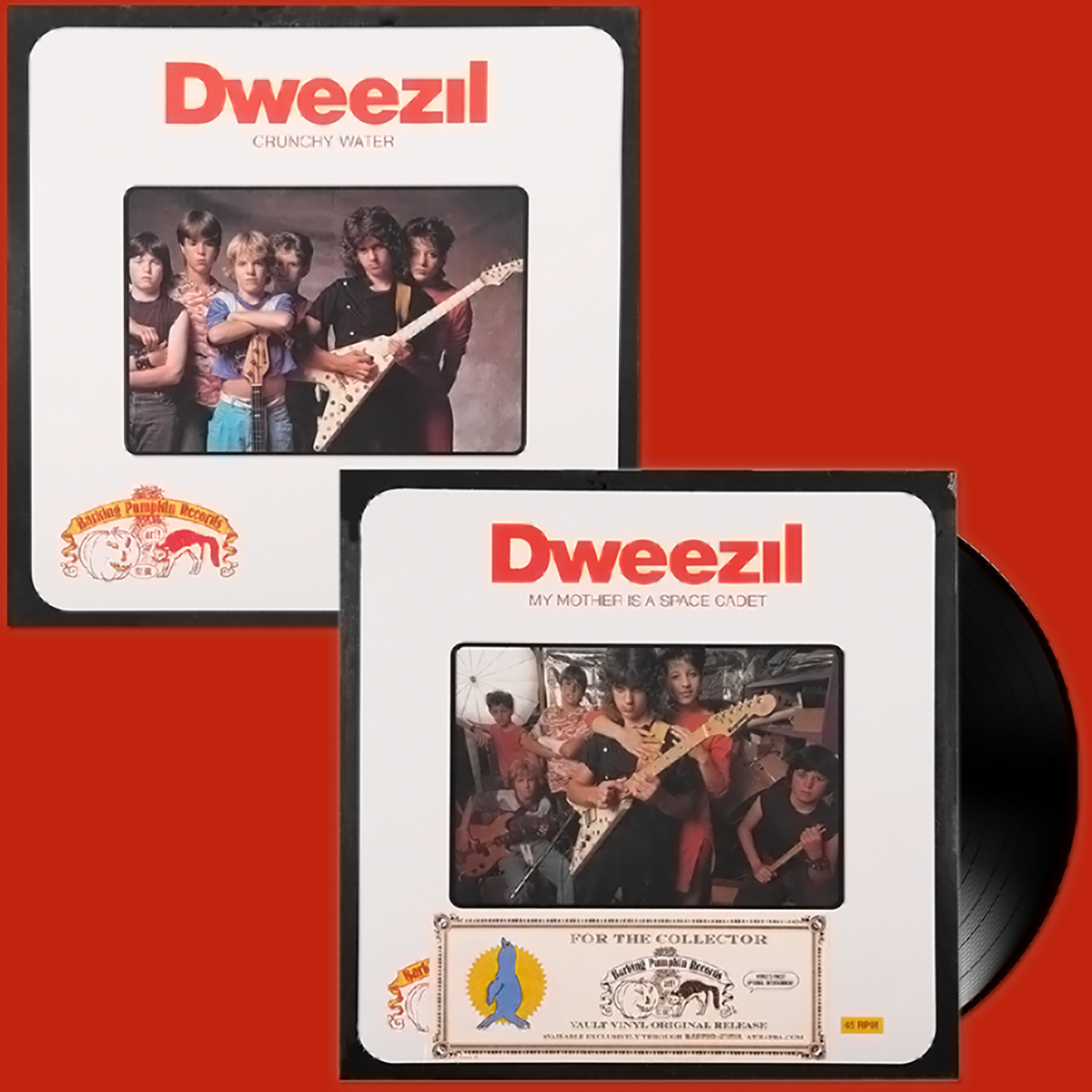 """Dweezil Zappa - My Mother is a Space Cadet 12""""  Single"""