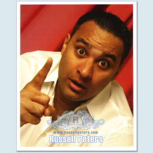 Russell Peters - Close Up Photo