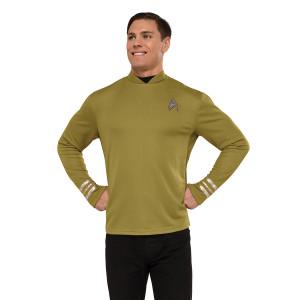 Star Trek Beyond Captain Kirk Costume In Gold - Medium