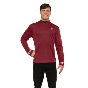Star Trek Beyond Scotty Deluxe Costume In Red - Extra Large