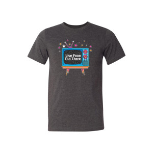 """""""Live From Out There"""" Logo T-shirt"""
