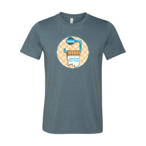 """Live From Out There"" Toilet Paper T-shirt"