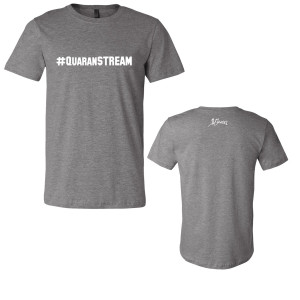 """Live From Out There"" #QuaranSTREAM T-shirt"