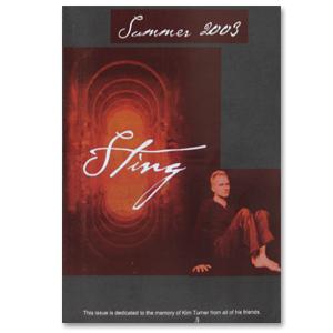 Sting Summer 2003 Newsletter