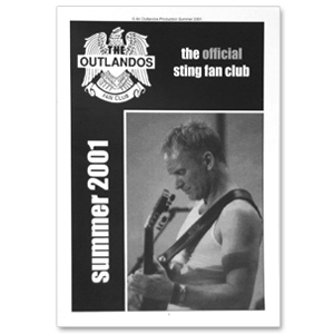 Sting Summer 2001 Newsletter