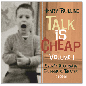 "Henry Rollins - ""Talk Is Cheap Vol. 1"" Digital Download"