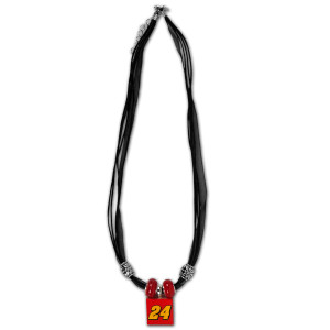 Jeff Gordon #24 DTEH Lifetiles Bead Necklace