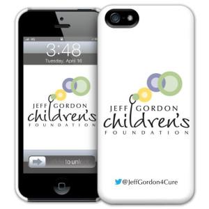 Exclusive Jeff Gordon Childrens Foundation iPhone 5 Case