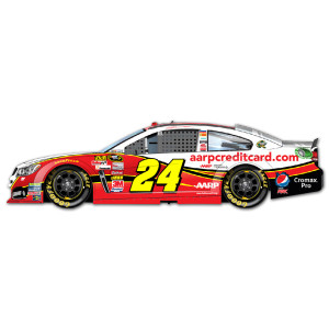 Jeff Gordon #24 2013 Drive to End Hunger Chase Visa 1:24 Scale Diecast HOTO