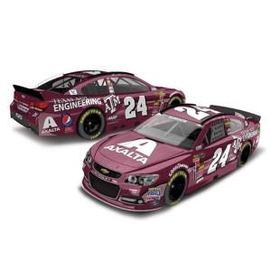 Jeff Gordon - #24 Texas A&M  2014 Nascar Sprint Cup Series Diecast 1:24 Scale Color Chrome