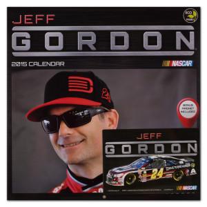 "Jeff Gordon #24 2015 12""x 12"" Wall Calendar"