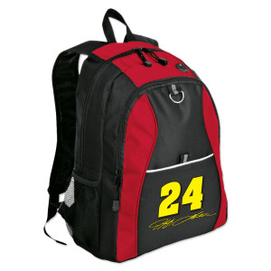 Exclusive Jeff Gordon #24 Signature Backpack