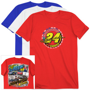 Pre-Order Exclusive Jeff Gordon #24 Championship Career T-Shirt