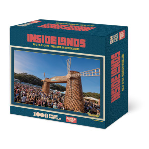 Inside Lands Limited Edition Windmill Puzzle - 1000 pieces