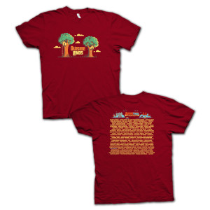 Outside Lands 2014 Treehouse T-Shirt
