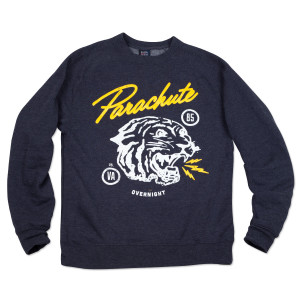 Parachute White Tiger Sweatshirt