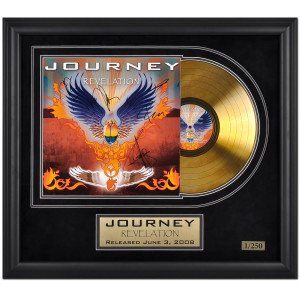 "Journey ""Revelation"" Autographed Limited Edition Framed Gold Record"