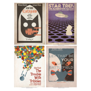 Star Trek: The Original Series Art Prints - Set 3