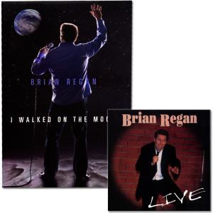 Brian Regan CD & DVD Package