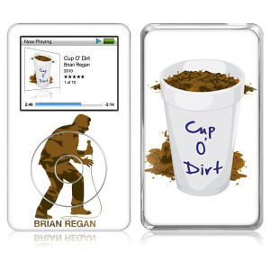 Cup O Dirt iPod Classic Skin