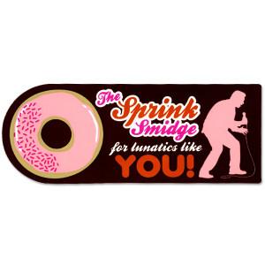 Brian Regan Sprink Smidge Sticker