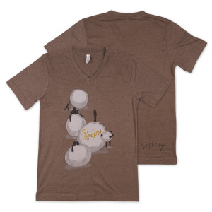 Jeff Bridges and The Abiders T-Shirt - Brown