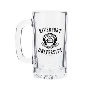 Riverport University 16oz. Glass Mug