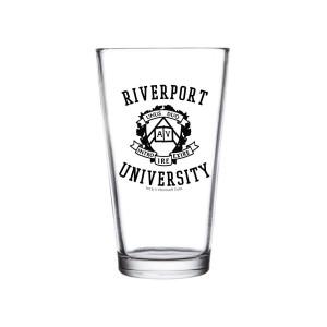 Riverport University Pint Glass