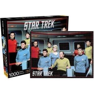 Star Trek Cast 1000 Piece Puzzle