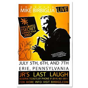 Autographed Secret (Erie) Poster Summer Tour 2007