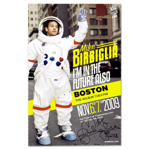 I'm in the Future Also Tour Poster - Autographed - Boston