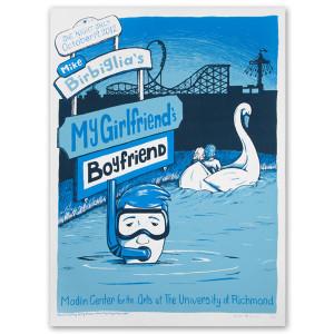 Limited Edition My Girlfriend's Boyfriend University of Richmond Tour Poster