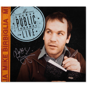 Mike Birbiglia: My Secret Public Journal Live CD [Autographed]