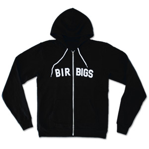 Birbigs Flex Fleece Zip Hoodie - Black