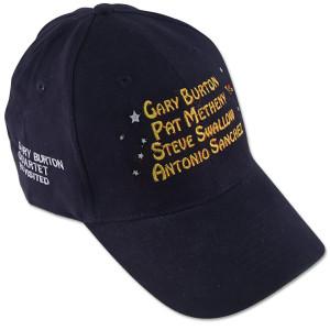 Gary Burton - Quartet Revisted Official Tour Cap