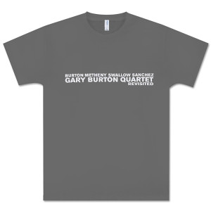 Gary Burton - Quartet Revisited Official Tour T-shirt