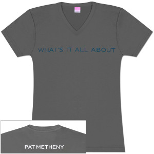 Pat Metheny - Whats it All About Ladies V-Neck T-Shirt